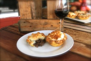 Steak and red wine Pioneer Pie
